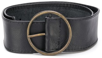 MonnaLisa Leather Buckle Belt