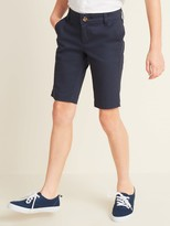 Old Navy Uniform Skinny Twill Bermudas for Girls