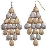 Apt. 9 Two Tone Teardrop Kite Earrings