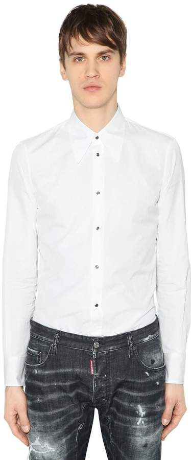 DSQUARED2 Cotton Poplin Shirt