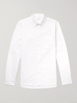 Mr P. Button-Down Collar Cotton Oxford Shirt
