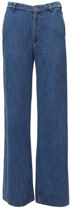 Forte Forte Palazzo Cotton Denim Jeans
