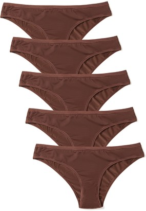 Iris & Lilly Amazon Brand Women's Brief Pack of 5
