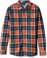 Volcom Men's Hayden Flannel Long Sleeve Shirt