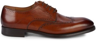 Magnanni Wingtip Leather Derbies