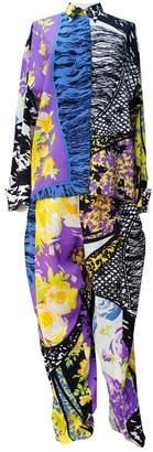 Gianni Versace Multicolour Silk Jumpsuit for Women Vintage