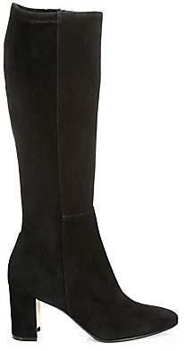 Manolo Blahnik Women's Pita Tall Suede Boots