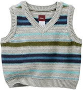 Tea Collection Massimiliano Stripe Sweater Vest (Baby Boys)
