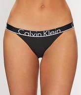 Calvin Klein ID Cotton Tanga Panty - Women's