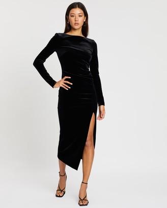 Bec & Bridge Midnight Soiree LS Midi Dress