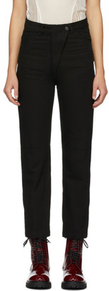 Ann Demeulemeester Black Palomar Trousers