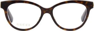 Gucci Gg0373o Havana Glasses
