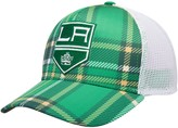 adidas Men's Kelly Green/White Los Angeles Kings St. Patrick's Day Trucker Adjustable Snapback Hat