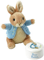 Beatrix Potter Peter Rabbit Trinket & Soft Toy Gift Set