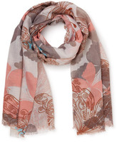 Gregory Ladner BUTTERFLY SCARF