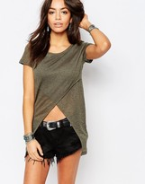 Only Cross Front Tunic Top