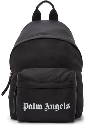 Palm Angels Black Small Backpack