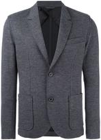 Lanvin deconstructed two button jacket - men - Polyamide/Spandex/Elastane/Viscose/Wool - 46