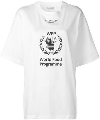 Balenciaga World Food Programme T-shirt