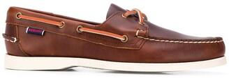 Sebago Docksides Portland leather boat shoes