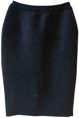 Alexander Wang Blue Wool Skirt for Women