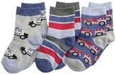 Jefferies Socks Rescue Vehicles 3 Pack (Infant/Toddler/Little Kid)