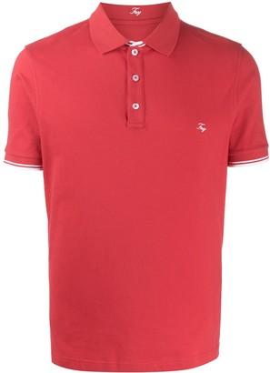 Fay Contrast-Trim Polo Shirt