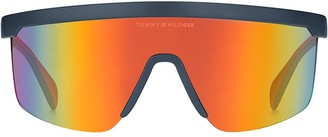 Tommy Hilfiger Wrap Mask Sunglasses