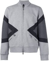 Neil Barrett zipped bomber jacket