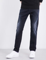 Diesel Tepphar 0679R straight mid-rise stretch-cotton jeans