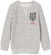 MANGO Boys Embossed Design Sweatshirt