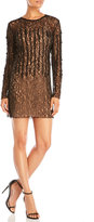 Sharon Wauchob Embellished Lace Sheath Dress