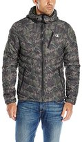 Champion Men's Packable Performance Puffy Jacket, Camouflage Green