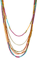 Stephan & Co. Layered Seed Bead Necklace