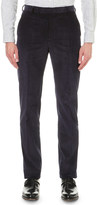 Richard James Slim-fit straight corduory trousers
