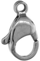 Sabrina Silver Stainless Steel Lobster Claw Trigger Clasp 10mm (10 pack)