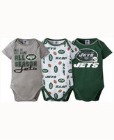Gerber Babies' New York Jets 3-pack Bodysuit