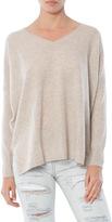 Minnie Rose Cashmere Boyfriend Sweater
