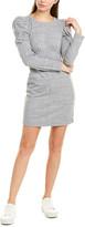 La Vie Rebecca Taylor Puff Sleeve Sheath Dress