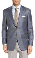 Hart Schaffner Marx Men's Classic Fit Plaid Wool Sport Coat