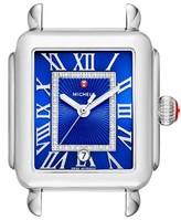 Michele Women's Deco Madison Diamond Dial Watch Case, 33Mm X 35Mm