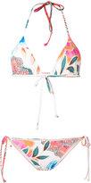 Mara Hoffman floral print bikini set - women - Recycled Polyester/Spandex/Elastane/Nylon - XS