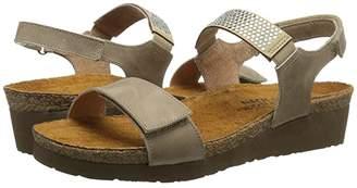 Naot Footwear Lisa (Khaki Beige Leather) Women's Shoes