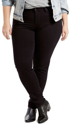 Levi's Curve Plus Shaping Skinny Soft Black