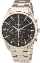 Seiko Men's SNDC81 Stainless Steel Analog with Black Dial Watch