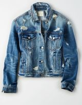 American Eagle Outfitters AE Ltd. Edition 40th Anniv. Denim Jacket