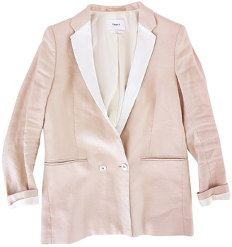 Filippa K Beige Linen Jacket for Women