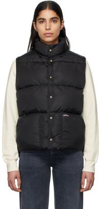 Noah NYC Black Cashball Puffer Vest