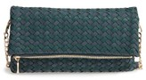 Sole Society Marlee Woven Clutch - Blue