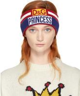 Dolce & Gabbana Red and Blue Princess Headband